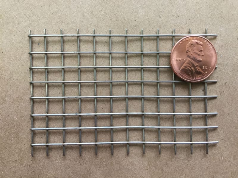 "4x4 Mesh .032"" Wire Welded .218"" Opening 76.0% OA"