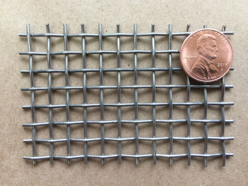 "4x4 Mesh .047"" Wire .203"" Opening 5.9% OA"