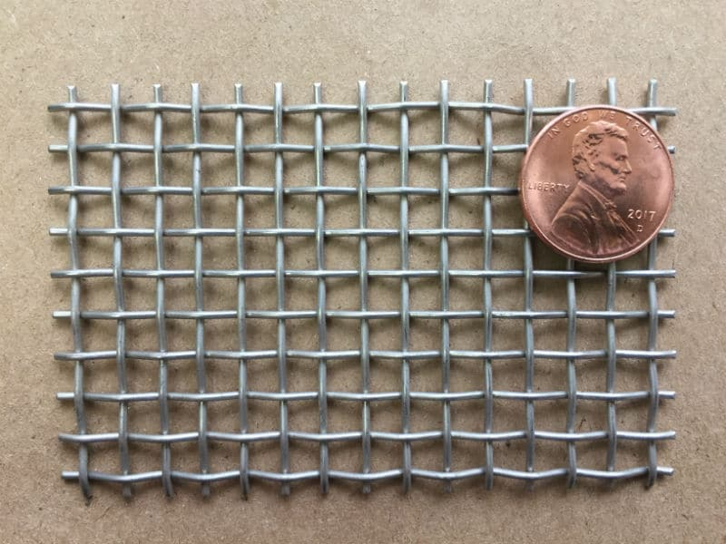 "5x5 Mesh .041"" Wire .159"" Opening 63.2% OA"