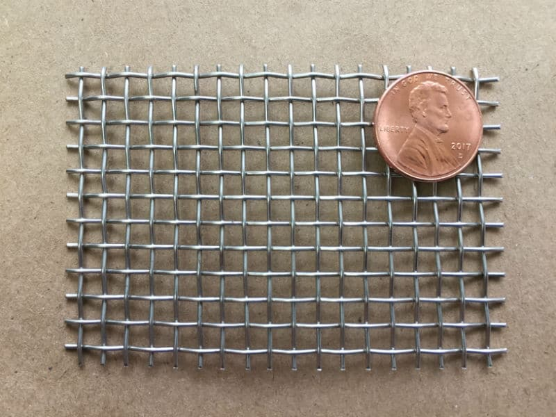 """6x6 Mesh .035"""" Wire .132"""" Opening 62.7% OA"""